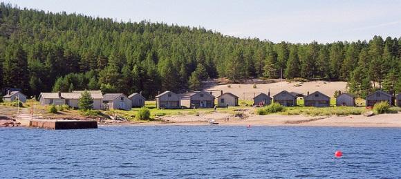 Sandviken auf der Insel Ulvön in Ångermanland