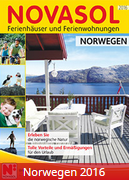 Novasol-Katalog 2016 für Norwegen